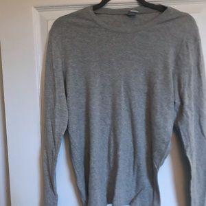 Gap grey long sleeve t XL